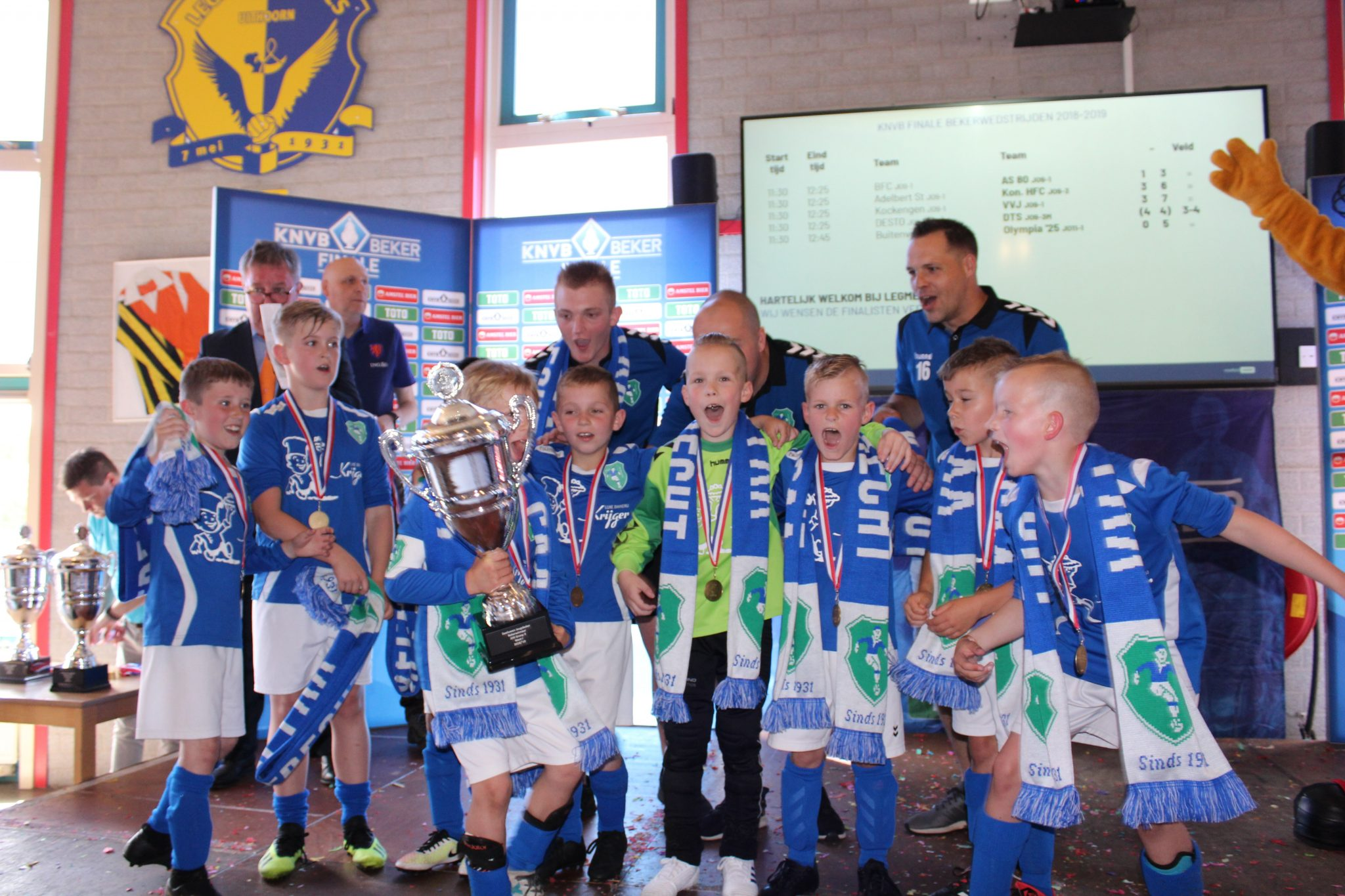 V.V.J. JO9-1 - winnaar KNVB beker 2018-2019